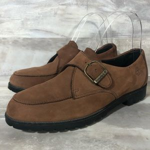 Timberland Brown Leather Loafers size 7M